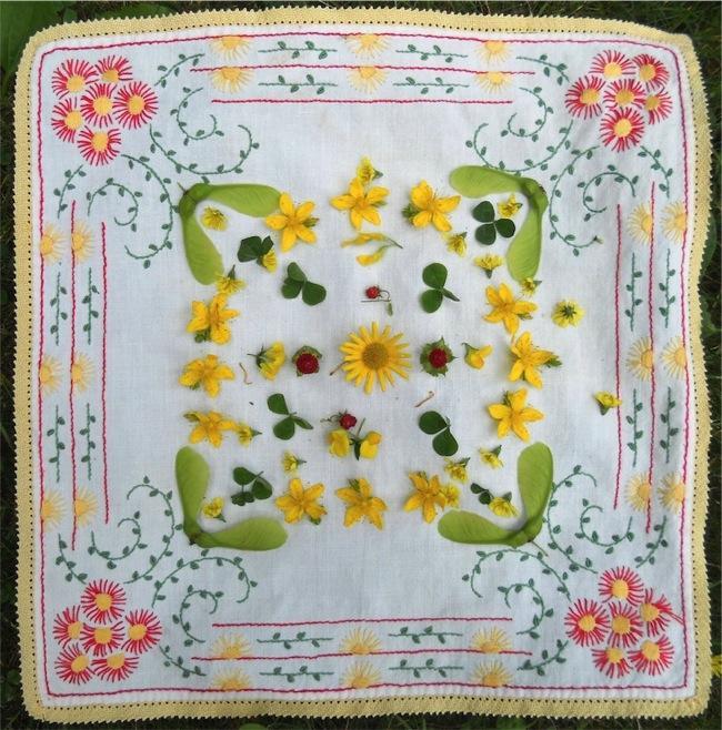 Mandala giallo