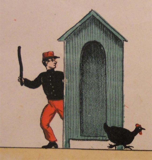 Caccia alla gallina